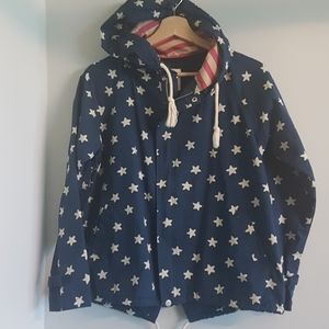 AG PLUS Light Jacket Stars Made in Japan Size S